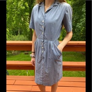 Vintage Mr. Henry Shirt Dress by Henry Rosenfeld